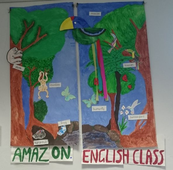 """the english class"" and the amazon"